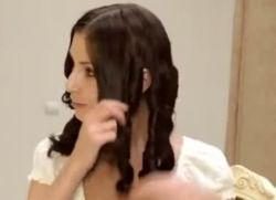 как накрутить волосы на бигуди бумеранги 9