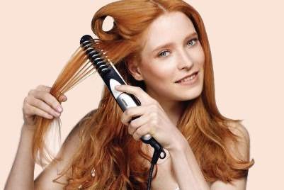 Модель с ионизацией оказывает положительное воздействие на волосы