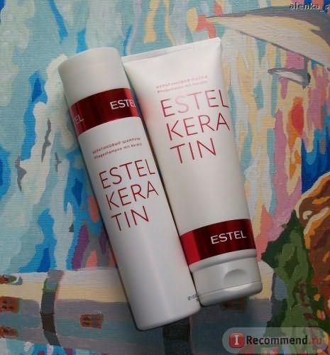 Маска для волос Estel Keratin фото