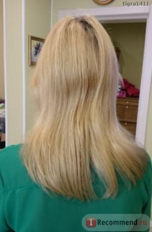 С такими волосами я пришла к мастеру на выпрямление