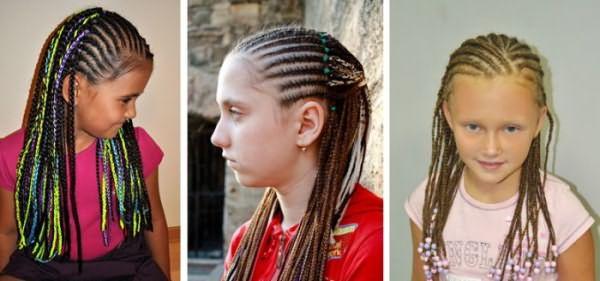 Афрокосы на девочках