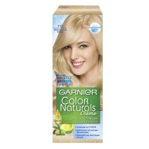 Довольно заманчивая упаковка, «говорящая» о максимально возможной безвредности крем-краски Garnier