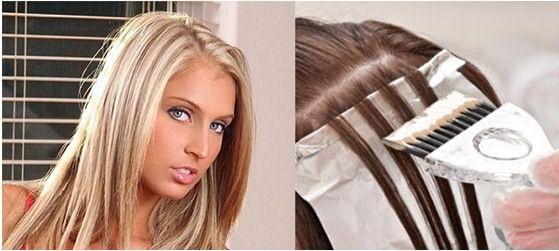 Мелированные волосы и процесс мелирования