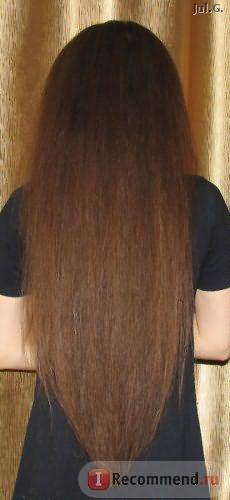 нанесение на сухие волосы