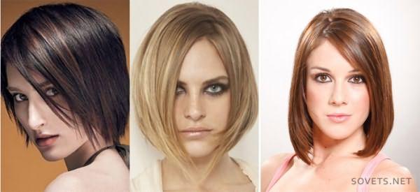 стрижки для коротких волос - каре