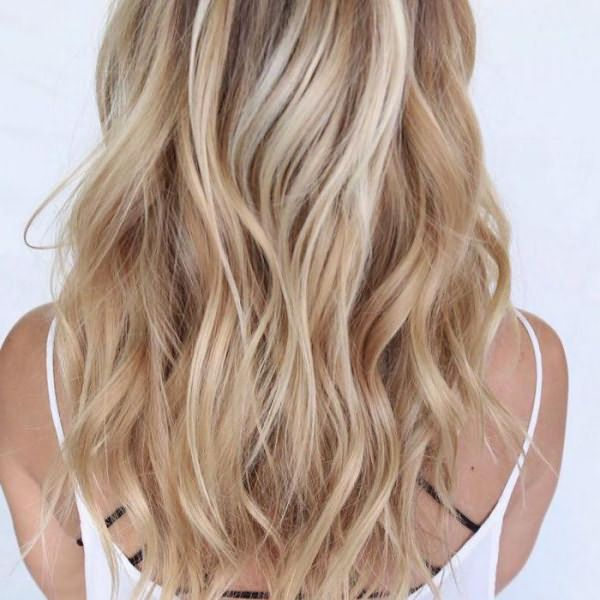 шатуш на светлые волосы средней длины фото