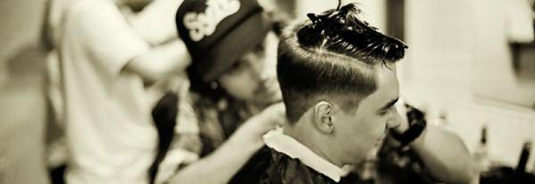 Создание причёски мастером