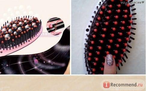 расческа-выпрямитель для волос с Aliexpress