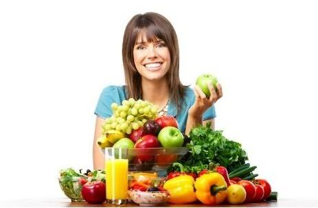 В вашем рационе должны присутствовать крупы, мясо, овощи и фрукты