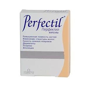 Витаминный препарат для волос Перфектил