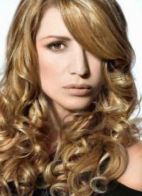 красивые стрижки на кудрявые волосы 2