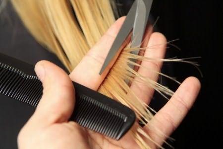 Отдельная обработка кончиков предотвратит их сечение