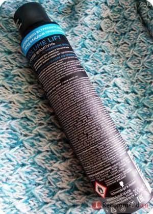 Сухой шампунь SYOSS Volume lift фото
