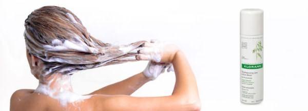 Klorane – шампунь для сухой укладки прически