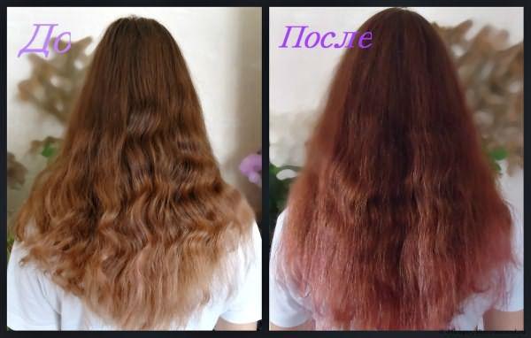 Волосы волнистые из-за косички