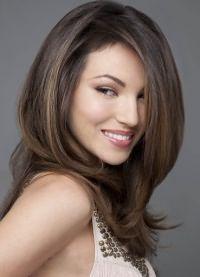 варианты укладки волос средней длины4