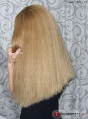 Волосы после применения кондиционера для волос JOICO Moisture Recovery Conditioner