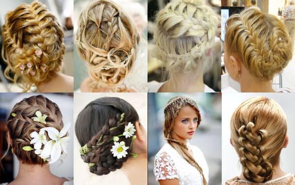 Многочисленны способы укладки кос.