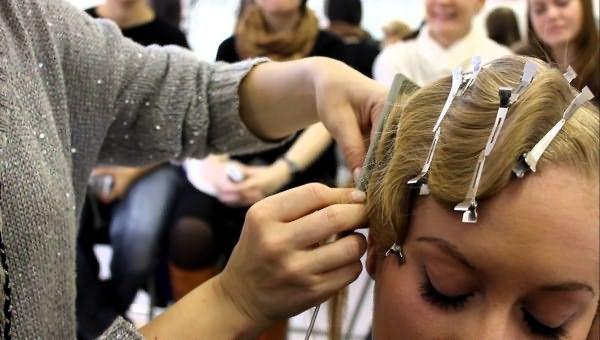 Ретро - укладка волос на свадьбу «Холодная волна»