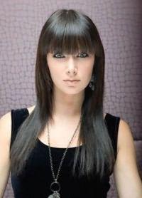 Стрижка аврора на длинные волосы 2