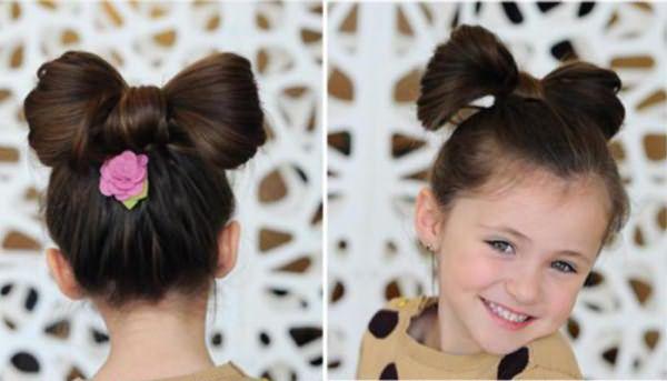 Прически пошагово для маленьких девочек